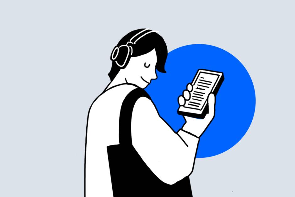 책의 날, 스트리밍, 음원 형태로 듣는 말하는 책, 오디오북