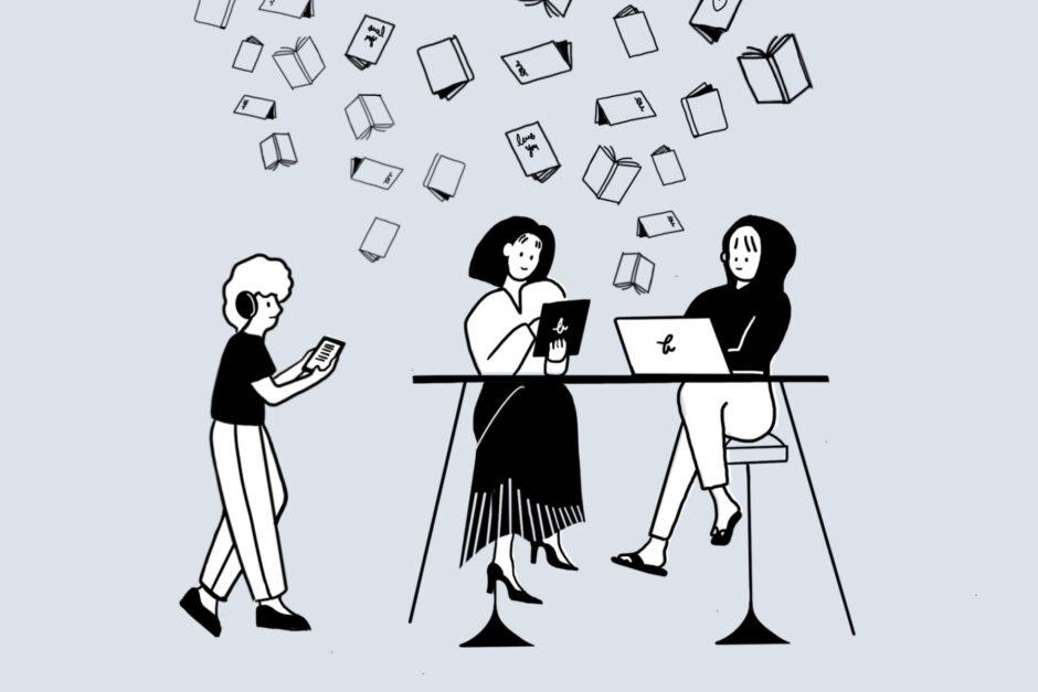 """""""책의 날"""", 모두 다른 형태의 책이지만, 책을 통해 얻은 경험의 소중함은 같습니다."""