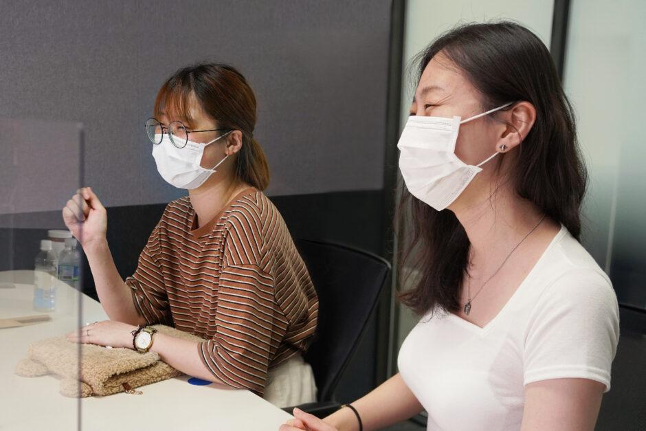 채식 웹툰 '아삭아삭 테이블' 작가 탄새, 불곰님 인터뷰