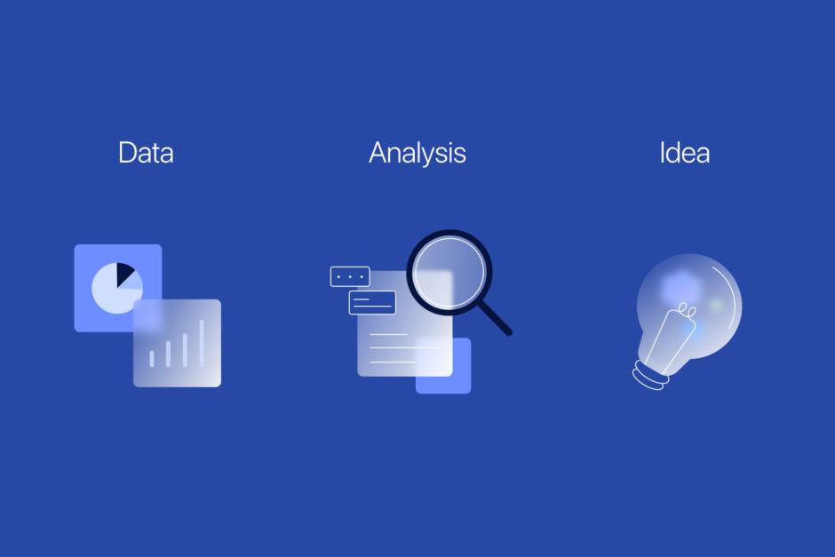 데이터 인사이트 도출에는 직관이 작용합니다.